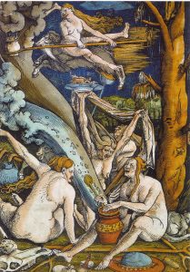 Hans Baldung Grien, Sorcières, 1508